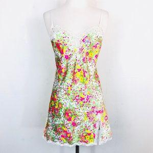 Victoria's Secret Lingerie Slip Dress Floral